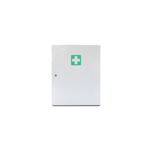 Erste-Hilfe-Schrank,leer,DIN 13169 E,Giftfach,HxBxT 550x455x175mm