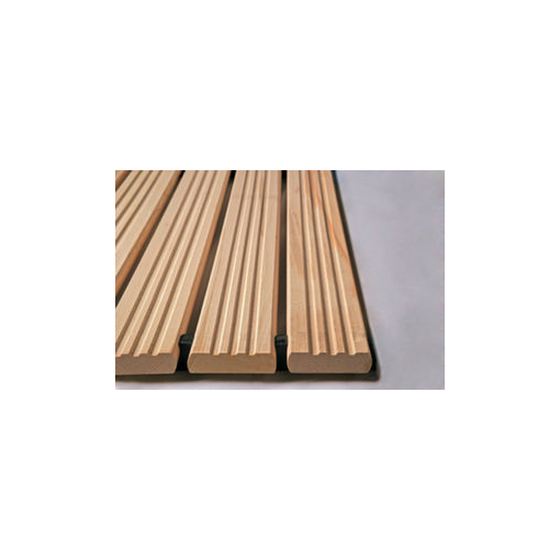 Holzlaufrost,Buchenholz,gerieft,B 800mm,DIN R11...