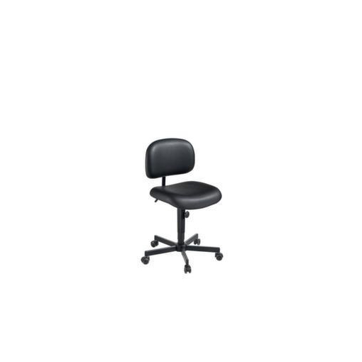 Arbeitsdrehstuhl,Sitz H 540-670mm,Kunstleder,Ro...