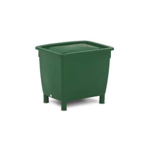 Deckel,f. Rechteck-Behälter,210l,grün