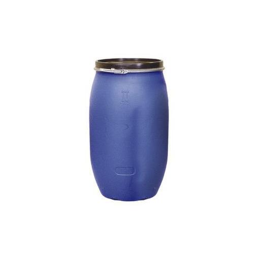 Deckelfass,220l,HxØ 980x590mm,PE,blau