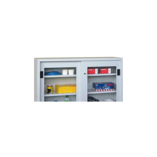 Sichtfenster-Türen,f. Schiebetürschrank HxBxT 1000x1500x400mm,Mehrpreis