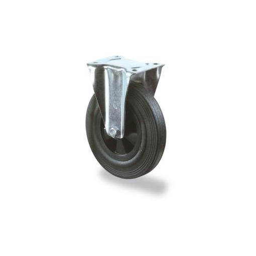 Bockrolle,Tragl. 50kg,Vollgummireifen,DxB 80x25mm,Kunststoff-Felge