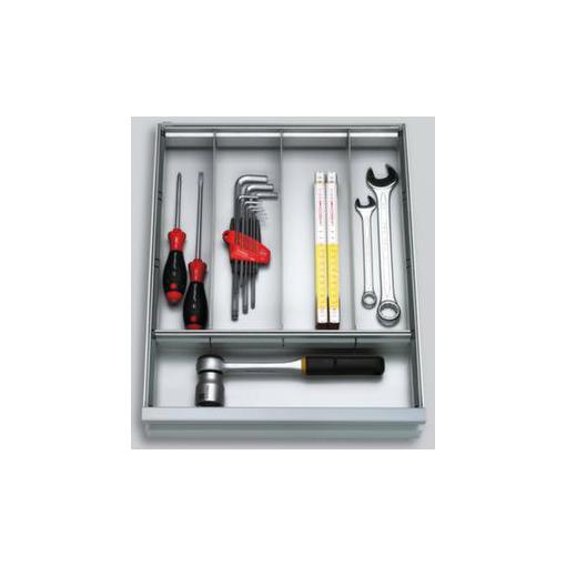 Trennbleche,zur Schubladeneinteilung,H 68mm,f. Schrank B 500/930mm