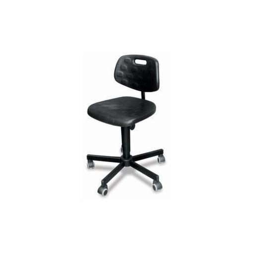 Arbeitsdrehstuhl,Sitz H 510-630mm,PU-Sitz,Rolle...
