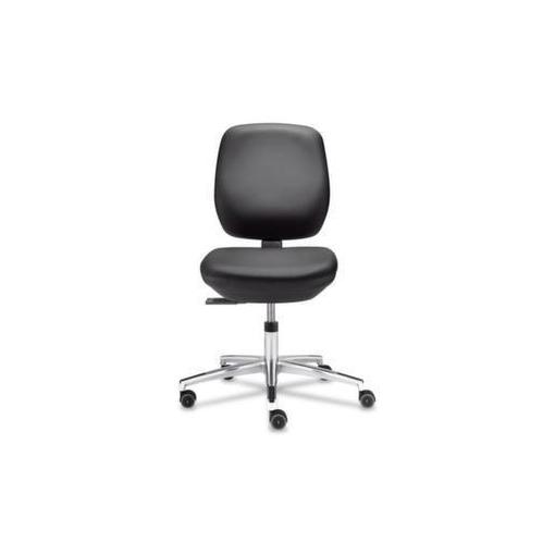 ESD-Arbeitsstuhl,schwarz,Sitz H 430-590mm,Sitz/...