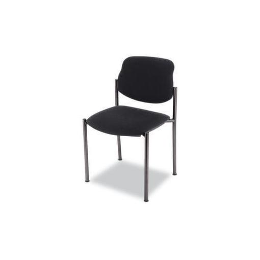 Besucherstuhl,Bezug schwarz,Sitz BxT 450x460mm,Gestell schwarz