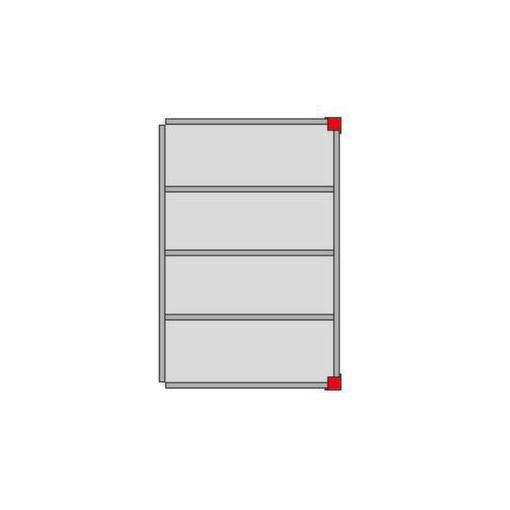 Bühnen-Modulsystem,Anbaumodul,LxB 4000x3000mm,L...