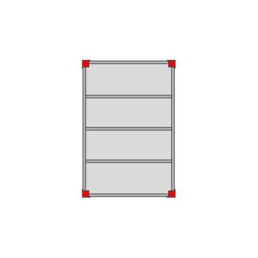 Bühnen-Modulsystem,Grundmodul,LxB 4000x5000mm,L...