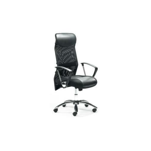 Drehsessel,Sitz HxBxT 460-540x500x500mm,Airtex-/Leder,Muldensitz