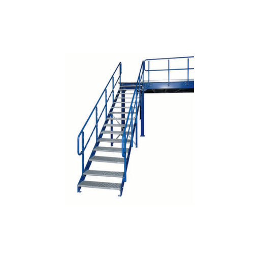 Treppe,f. Bühnen-Modulsystem,f. H 3000mm,15 Stu...