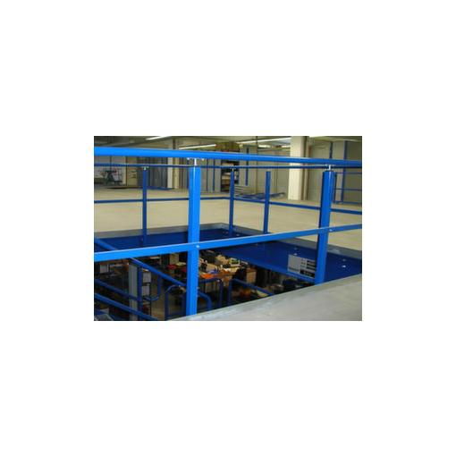 Geländer,f. Bühnen-Modulsystem,lichte H 1000mm,...