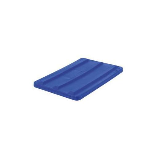 Deckel,f. Mobilen Rechteck-Behälter,135l,blau