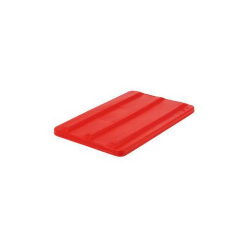 Deckel,f. Mobilen Rechteck-Behälter,135l,rot