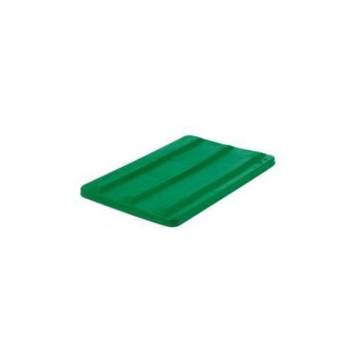Deckel,f. Mobilen Rechteck-Behälter,135l,grün