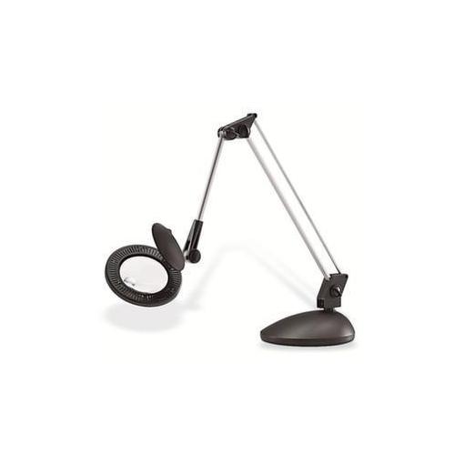 LED-Schreibtischleuchte,m. Lupe,Arm L 720mm,5500 Kelvin,Tischklemme