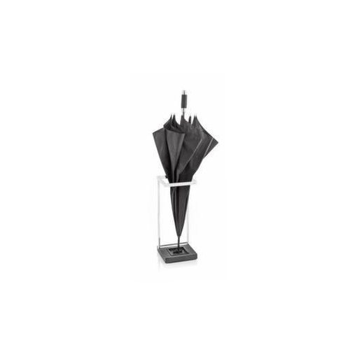 Schirmständer,HxBxT 490x200x200mm,Edelstahl matt