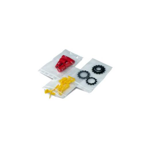 Druckverschluss-Beutel,PE,50 µm,LxB 80x60mm,neu...