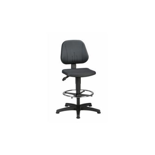 Hoher Arbeitsstuhl,Sitz PU,Sitz HxBxT 580-850x4...