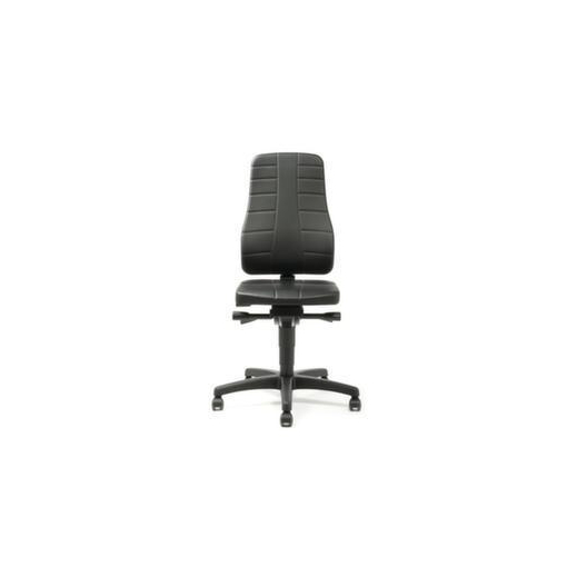 Arbeitsstuhl,Sitz Kunstleder,Sitz HxBxT 450-600...