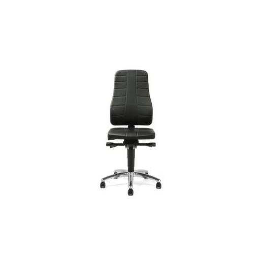 ESD-Arbeitsstuhl,Sitz Kunstleder,Sitz HxBxT 450...